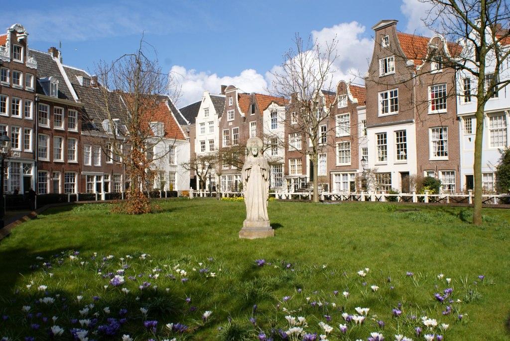 Begijnhof amsterdam beguinage ou monast re pour femme for B b amsterdam