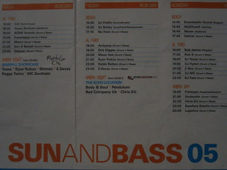 Sun and Bass '05 | by DJ Fass
