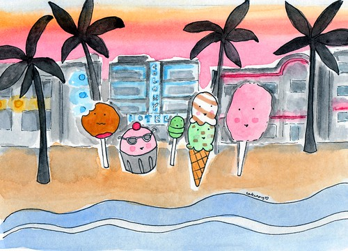 Treats at South Beach! | by cakespy