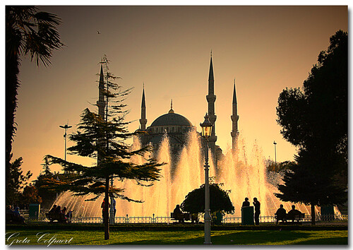The Blue Mosque in Istanbul | by greta colpaert