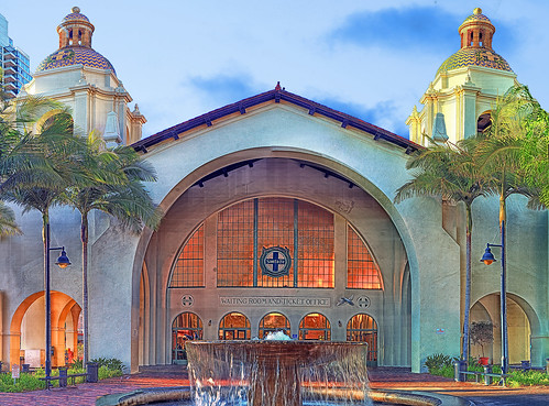 Santa Fe Train Depot - Downtown San Diego | by Michael in San Diego, California
