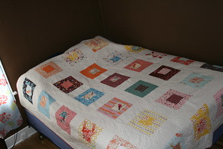 Alissa made me an amazing quilt | by Cate is my name