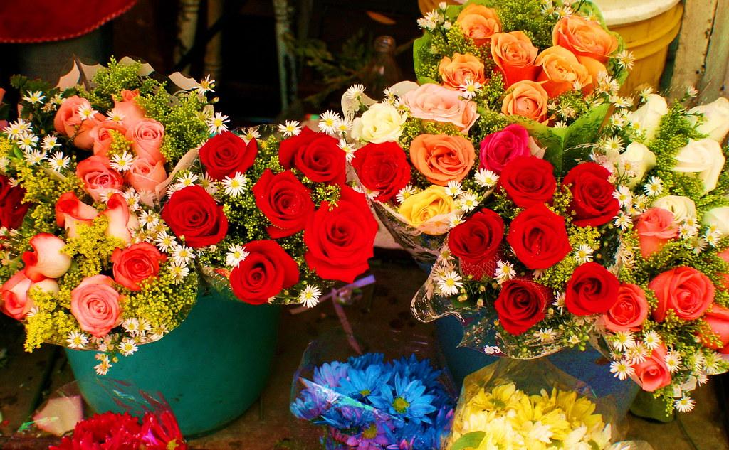 Flores callejeras