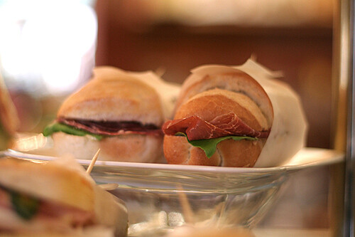 ham sandwiches | by David Lebovitz