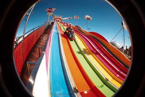 rainbow slide | by aaronjb