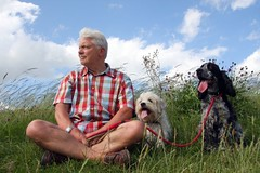 One man and his dogs | by Linda Cronin