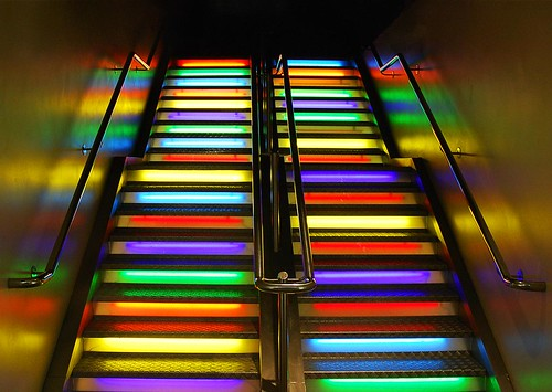 Rainbow Stairs | by ..Peter