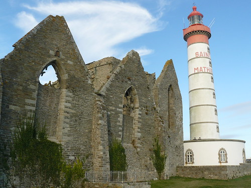 Pointe Saint-Mathieu : le phare, l'abbaye | by ADEUPa Brest