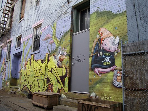 Graffiti-Style Snazzy Art in Cincinnati | by The Upstairs Room