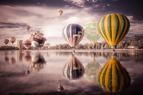 "Colorado Balloon Classic - ""Balloon surreal"" 