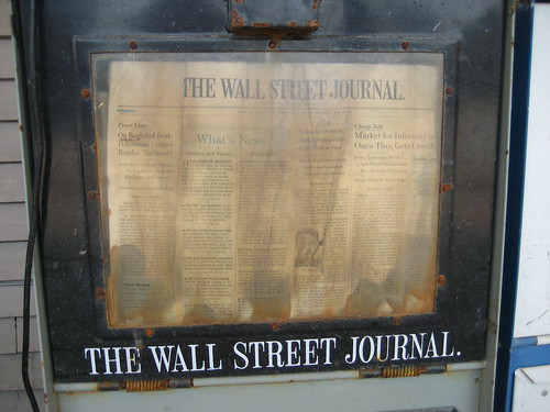 Wall Street Journal. August 2005 Forever | by Infrogmation