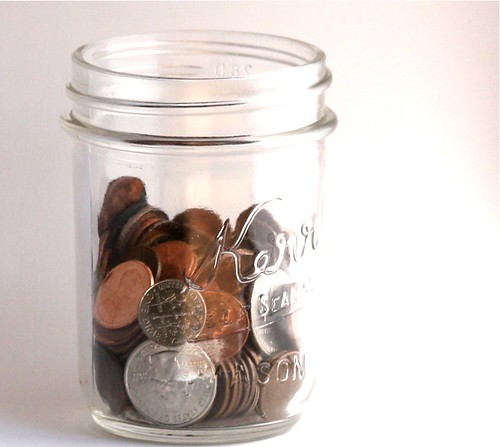 20080701 - Jar of coins | by smallnotebook