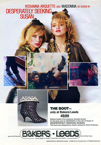 1985 Desperately Seeking Susan Boots Ad | by Kitten Moon