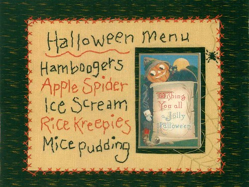 halloween menu on light | by shebrews