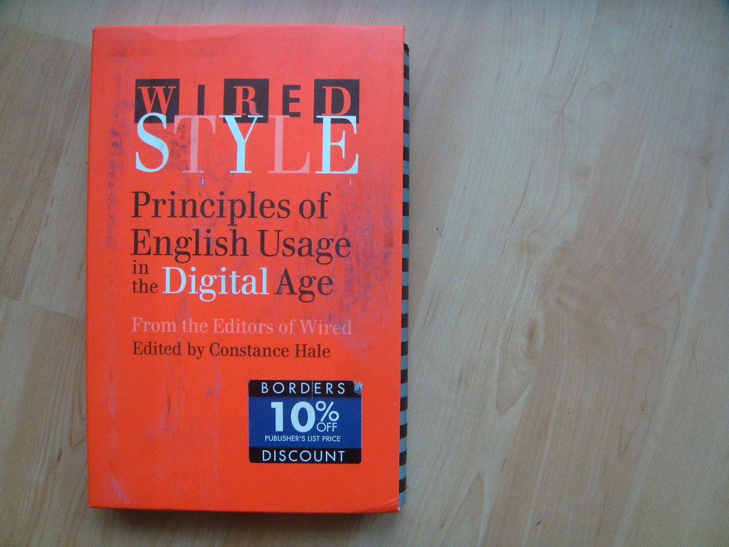 wired style - principles of english usage in the digital age