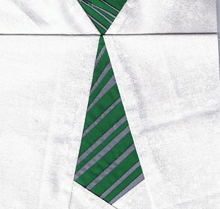 Slytherin House Tie | by Laci Law