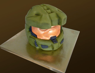 Halo Masterchief cake | by Tuff Cookie cakes by Sylvia