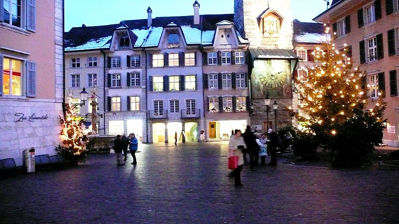 Main Square, Solothurn, Christmas 2008