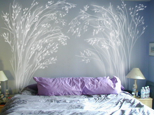 painted headboard 1 | by moodlemoodle