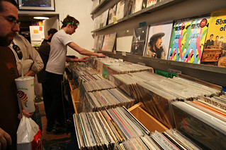 record store day at other music (project 365 - day 110) | by graciepoo