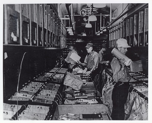 Railway Post Office Clerks at Work | by Smithsonian Institution