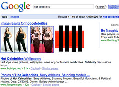 Google Porn For Hot Keyword (Universal Search) | by rustybrick