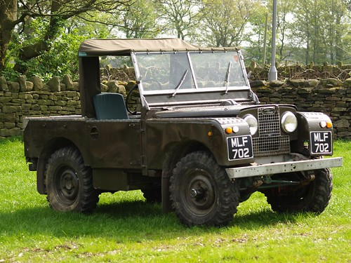 Land Rover Pick Up Series 1 - 1951 | by imagetaker!