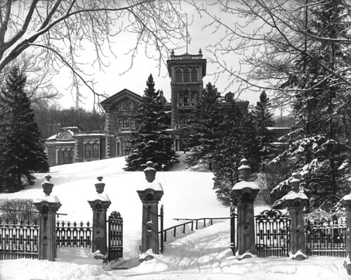 """Ravenscrag"", Hugh Montagu Allan's residence, Montreal, QC, 1901 