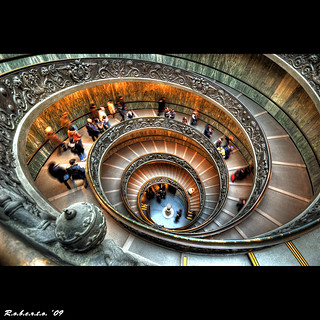 Staircase of the Vatican Museum | by R.o.b.e.r.t.o.