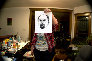 Louis CK drawing | by cryingatbingo