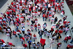 LAUSD Teachers Protest (1/29/2009) | by Bryan Villarin