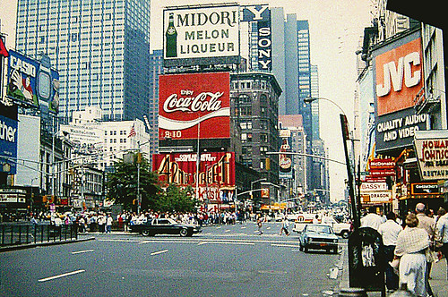 Times Square — 7th Avenue at West 46th Street — June 8, 1985 | by Jim Lambert