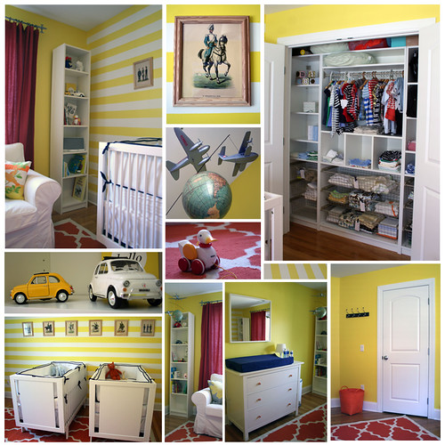 Baby Nursery -  Lemon Twist Room | by Project Nursery