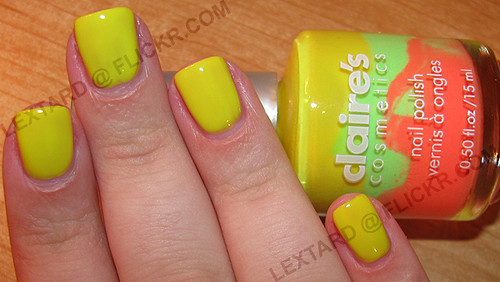 Claire's - Mixables (Yellow, Green, Orange) | by lextard