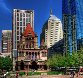 Trinity Church Boston HDR | by Darwin70