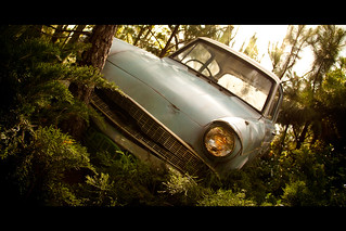 "The ""Flying"" Ford Anglia 