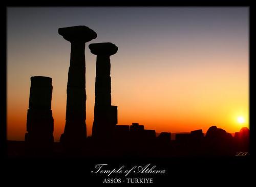 Temple of Athena, Assos  EXPLORE 14.09.08 #133 You can ...