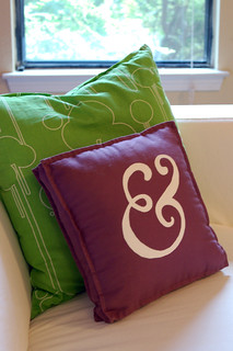 i made an ampersand pillow! | by jkenning