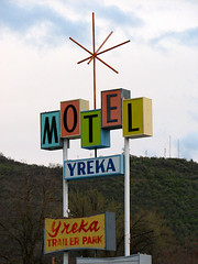 Yreka Motel & Trailer Park - Yreka, California | by Vintage Roadside