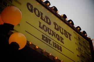 gold dust lounge | by BBQ Junkie