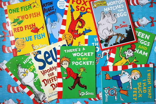 Dr seuss books | by girl enchanted