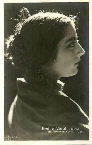 Emilia Vidali in I promessi sposi (1922)