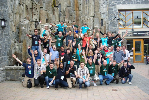 Many of the Mozilla localizers have met @Moz08, the Mozilla summit in Whistler | by nitot