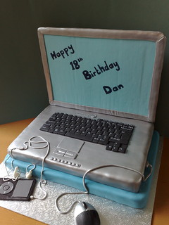 Laptop cake | by SmallThingsIced