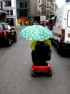 Elderly Transport in the Rain | by Mikael Colville-Andersen
