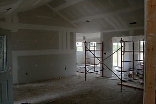 Drywall is up. | by BoneDaddy.P7