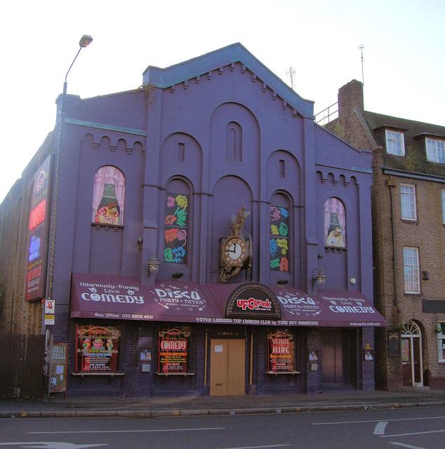 Up The Creek Comedy Club, Greenwich, London.