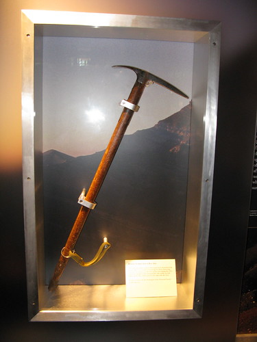 Pete Schoening's Ice Axe | by carlandkalah