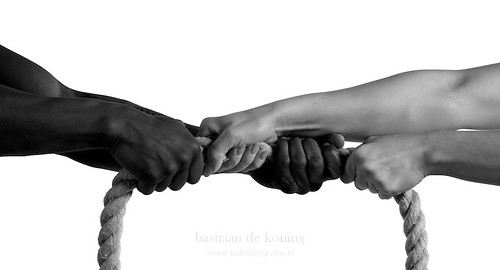 Hands and rope in black and white | by BdK Fotografie