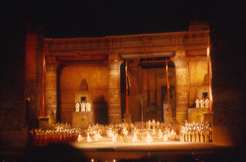 "Rome - ""Aida"" at Baths of Caracalla"